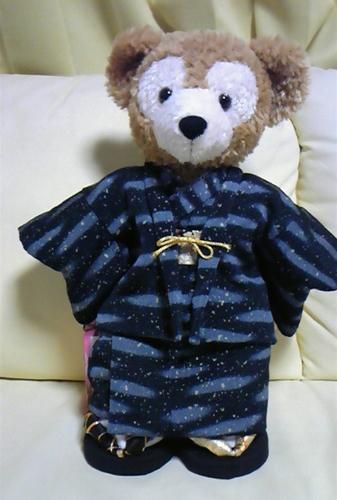 クマちゃんの着物