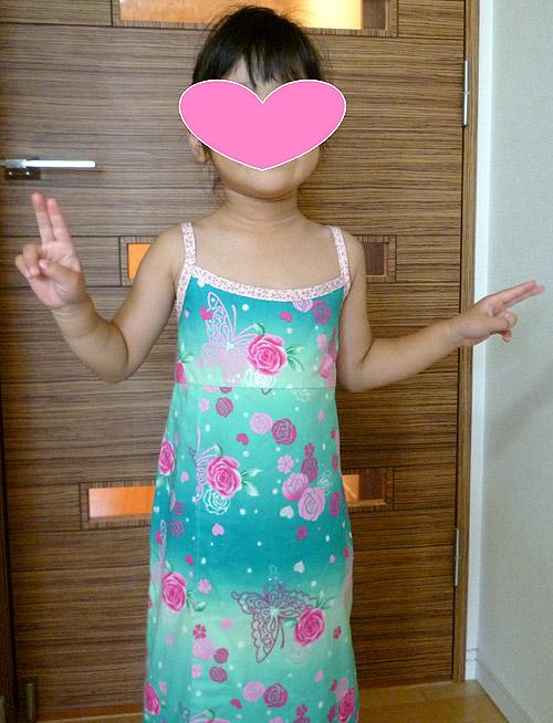 2way浴衣サンドレス