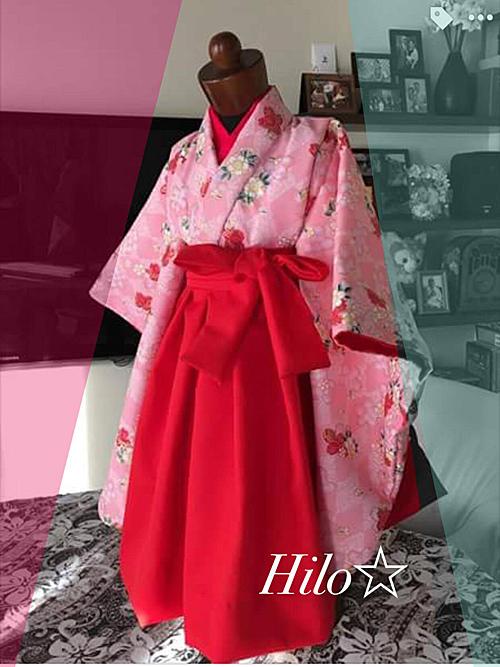 女の子着物袴