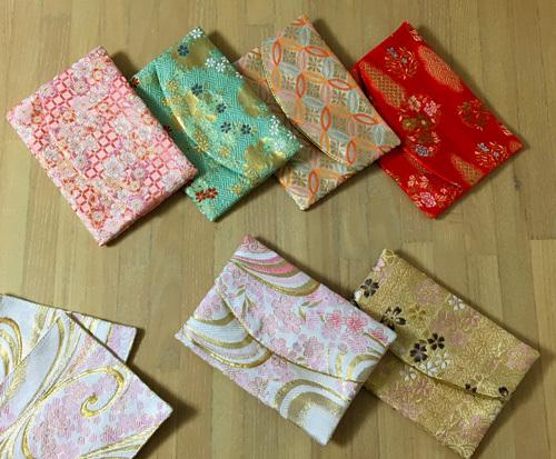 西陣織金襴ポケットティッシュケース